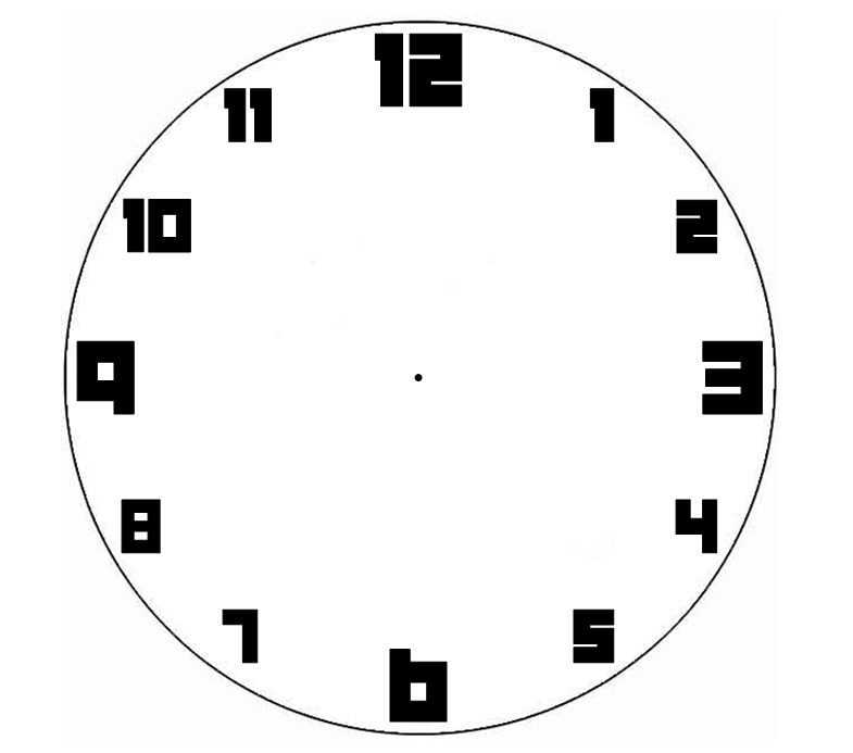 Make a Clock Face Activity  Twinkl