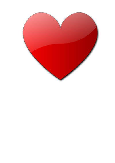 Image Of Red Heart - Cliparts.co