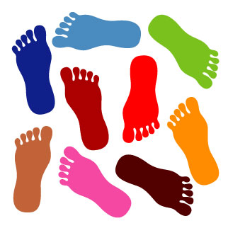Walking Feet Clipart | Clipart Panda - Free Clipart Images