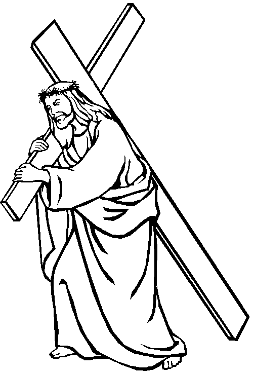 Pix For > Jesus Black And White Drawing
