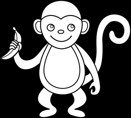 Clip Art Of Monkeys - Cliparts.co