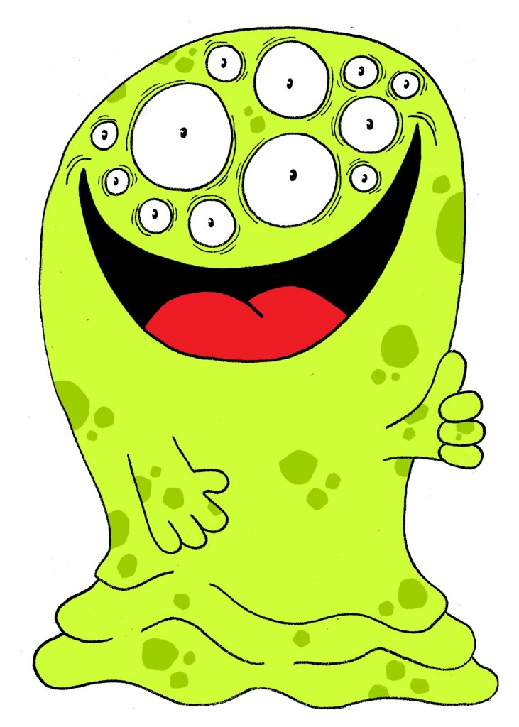 It's just a graphic of Dynamite Monster Pictures for Kids