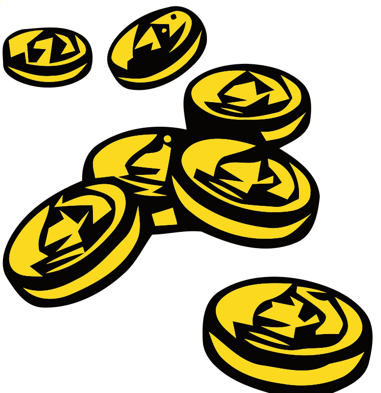 Gold Coins Clipart - ClipArt Best