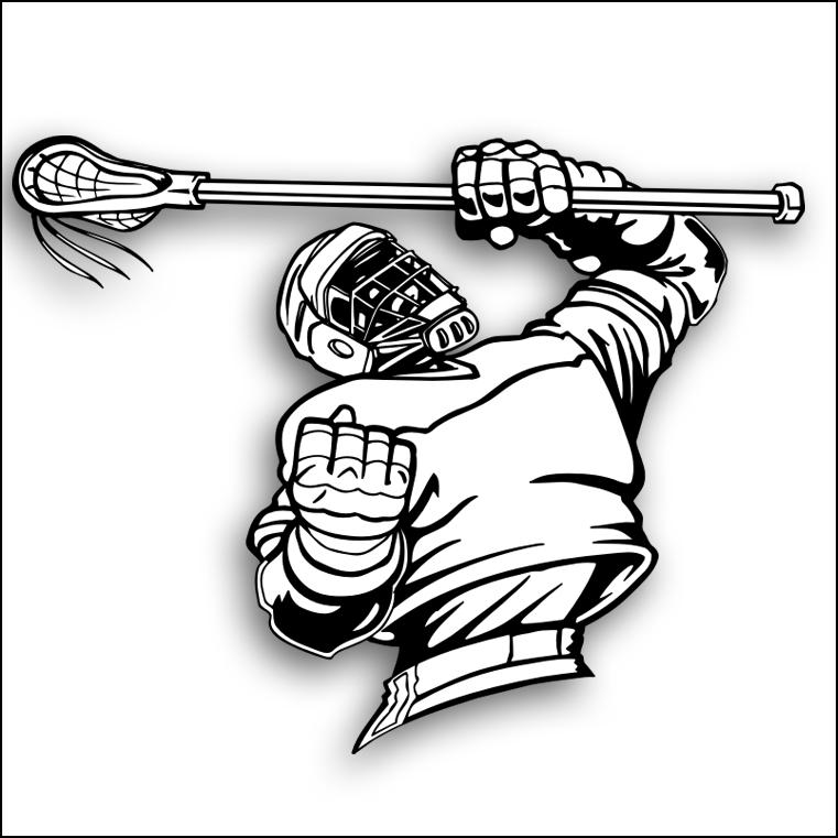 Lacrosse Player Clipart Lacrosse Clipart Lacrosse