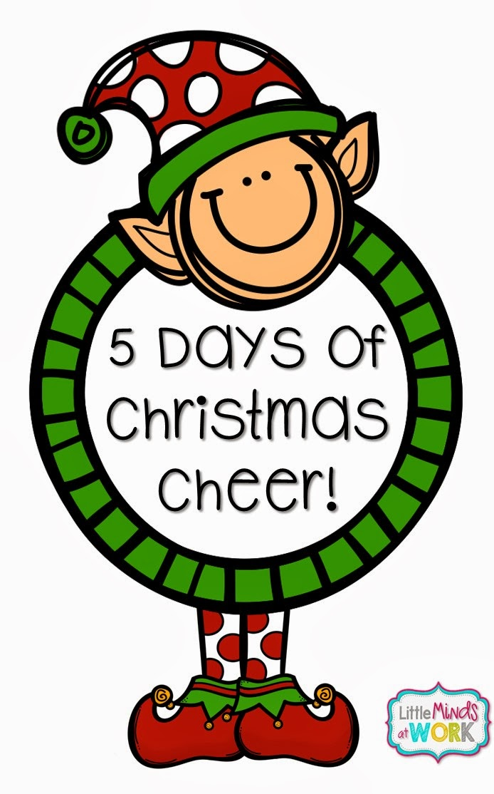Little Minds at Work: 5 Days of Christmas Cheer- Day One!