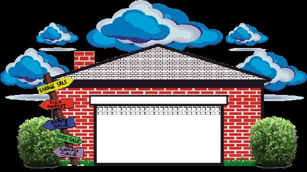Garage Door Clip Art : Garage sale clipart cliparts