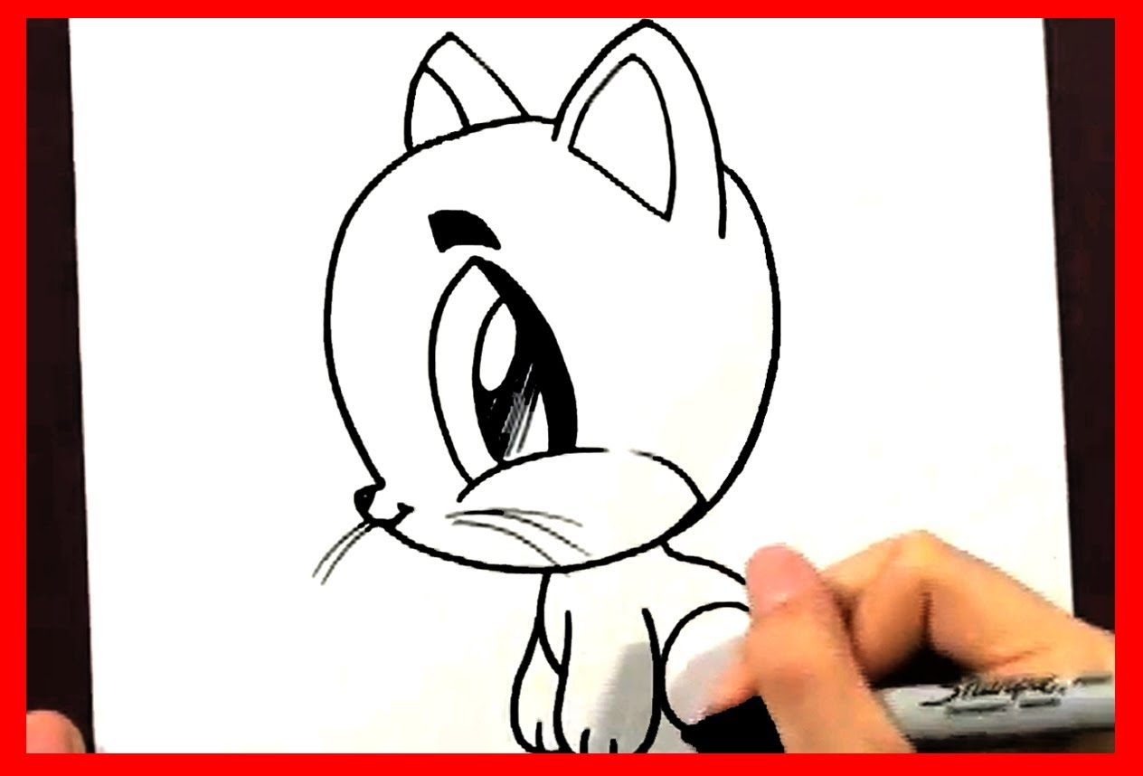 Nicholask Me How To Draw Cartoon Cats Kittens Lions And Tigers