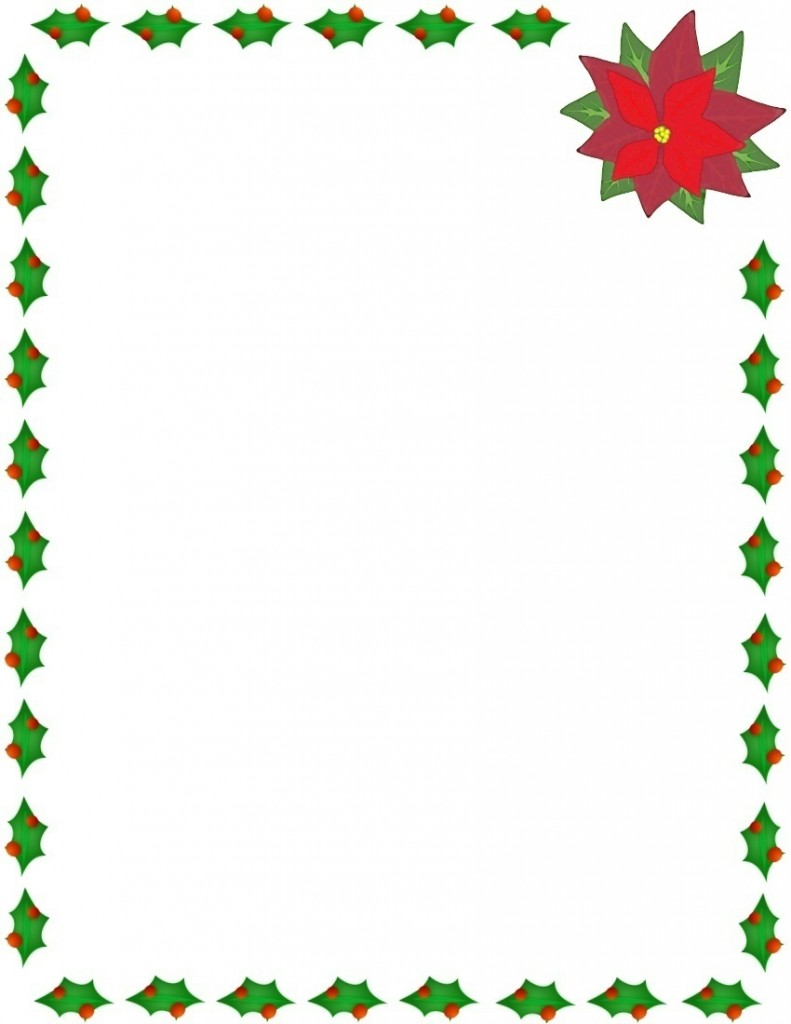 Christmas Clip Art Borders Black And White | Clipart Panda - Free ...