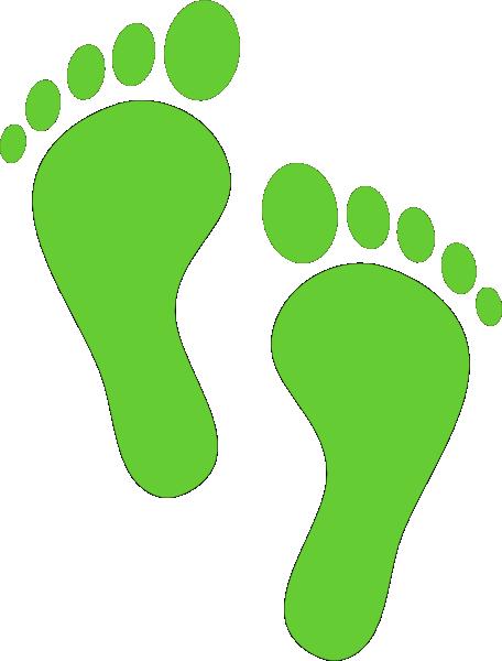 Footprint clip art - vector clip art online, royalty free & public ...
