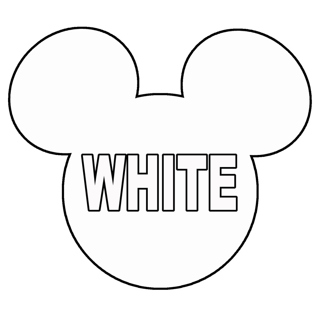 Printable Mickey Mouse Head - Cliparts.co