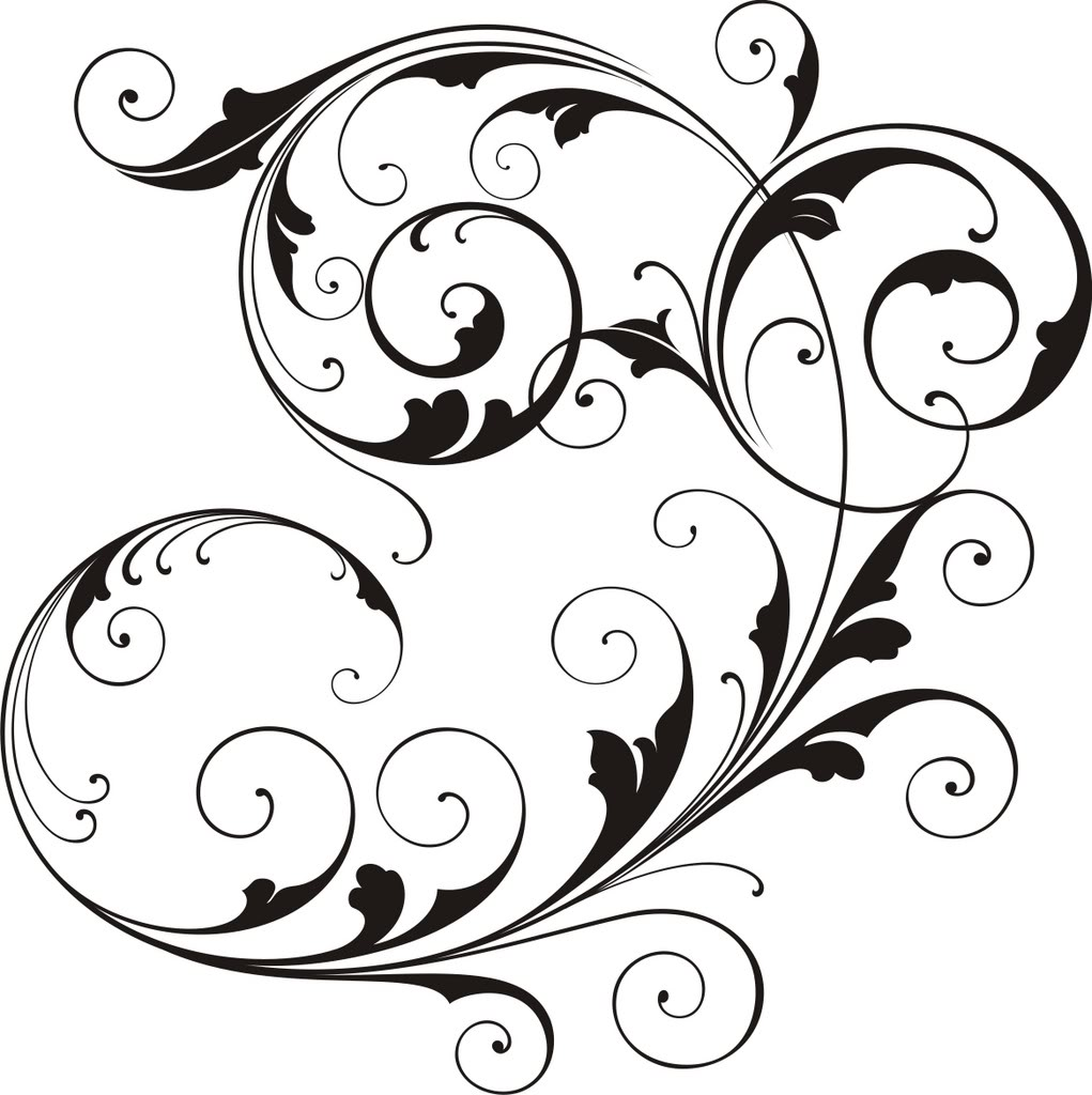 Images Of Wedding Scroll - ClipArt Best