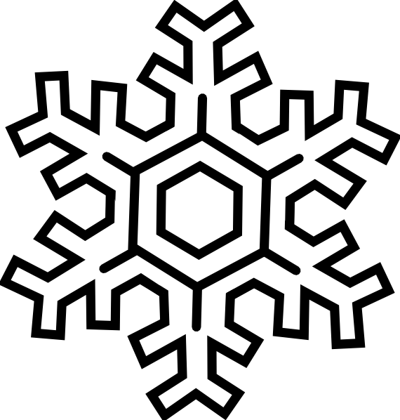 Snow And Dance White clip art - vector clip art online, royalty ...