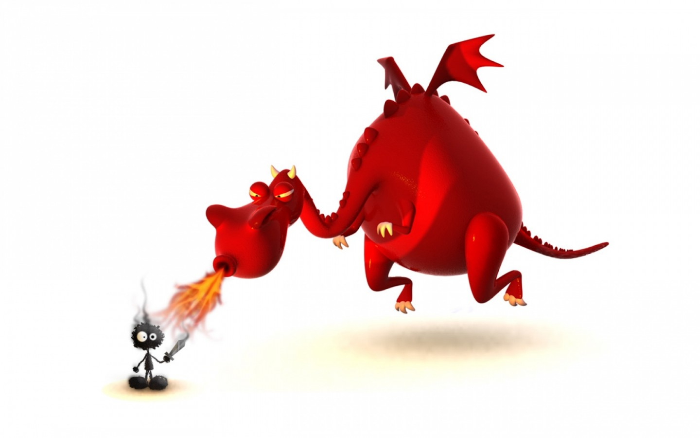download funny 3d dragon - photo #1