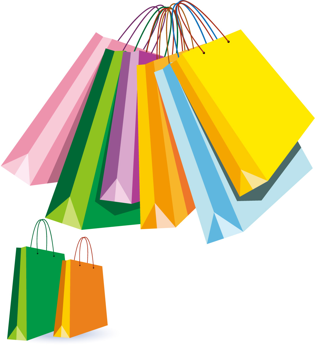 Shopping Bags Clip Art - Cliparts.co