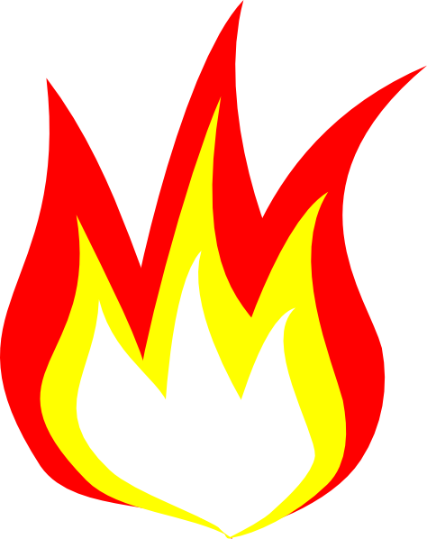 How To Draw Cartoon Fire Flames | Clipart Panda - Free Clipart Images