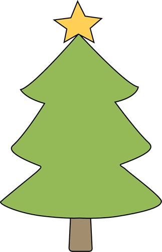 Christmas Tree Clip Art Outline - Cliparts.co