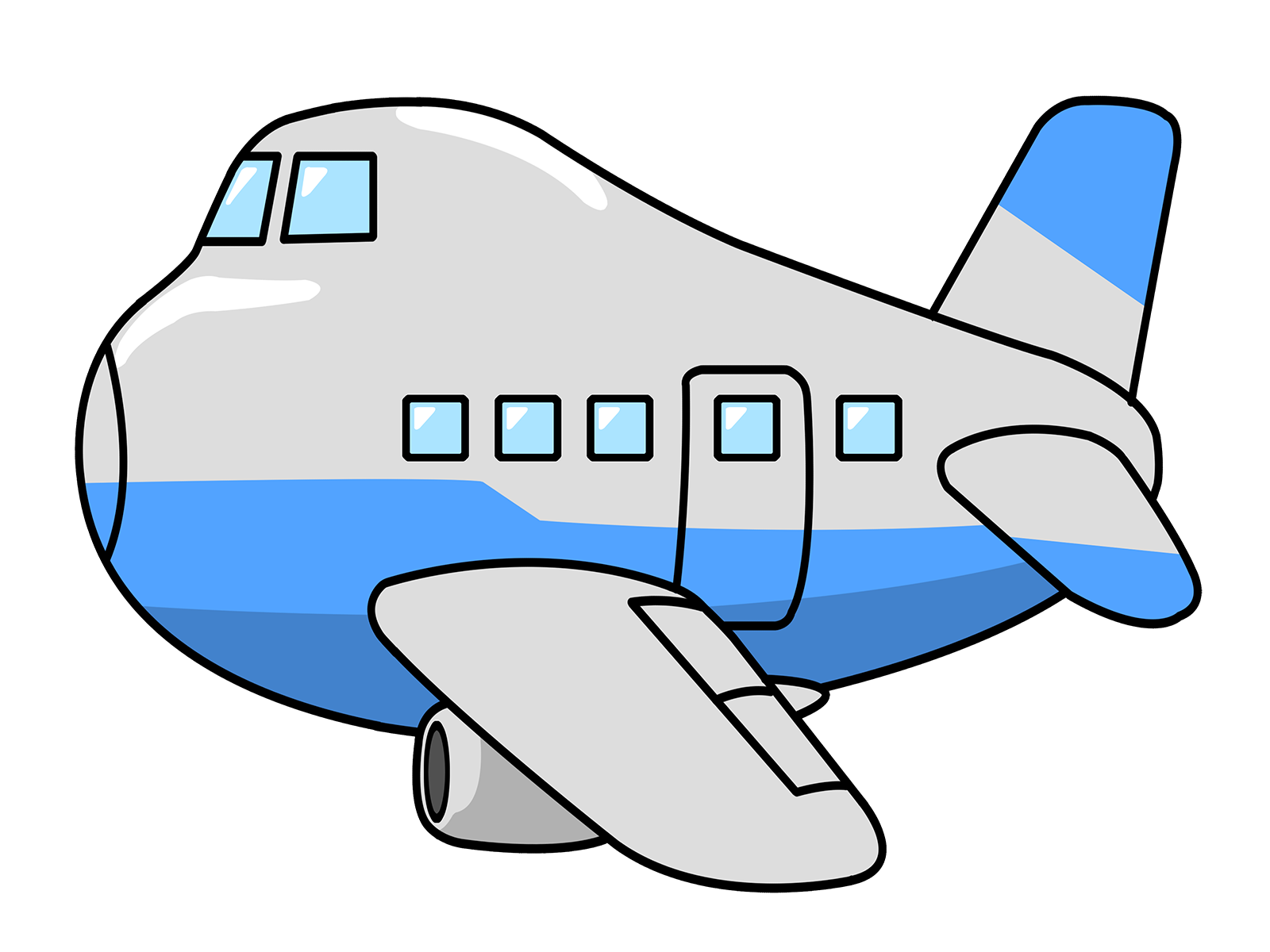 Free to Use & Public Domain Airplane Clip Art - Page 2