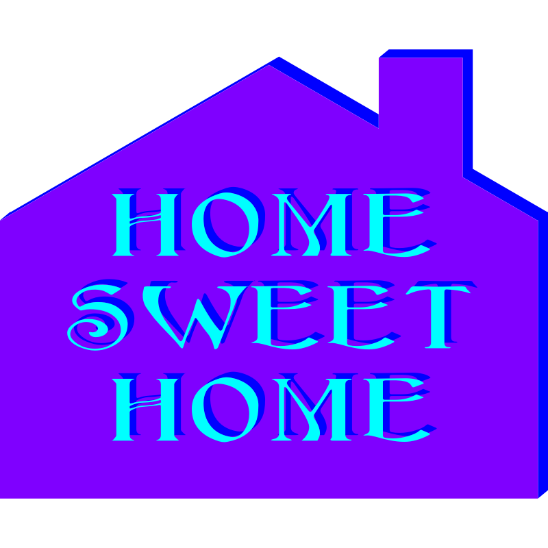welcome home clip art