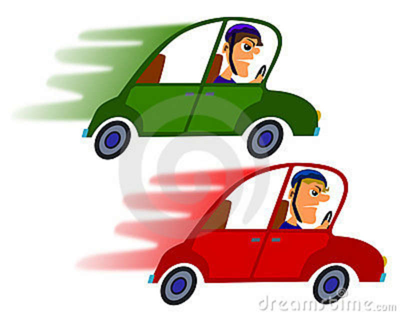 Fast Race Car Cartoon Clipart - Free Clip Art Images
