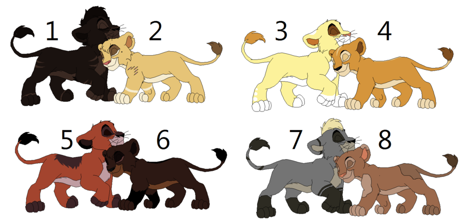 characters of lion makers