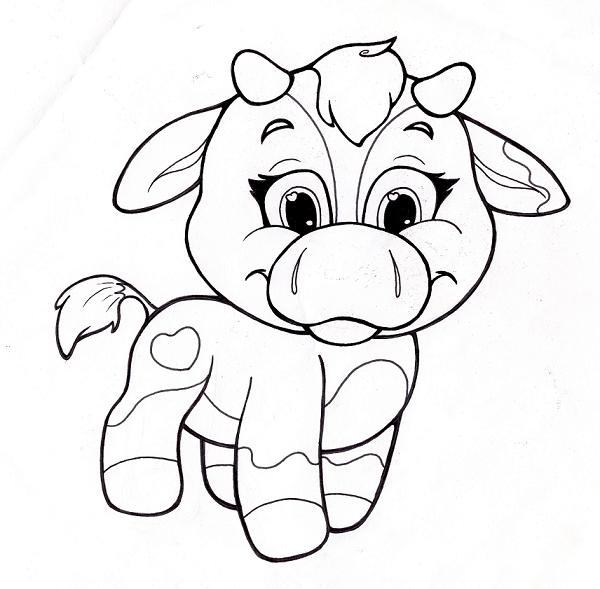 Agile image within cute animal coloring pages printable