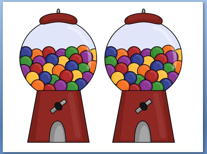 Gumball Machine Worksheet - ClipArt Best
