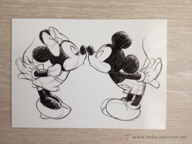 Imagenes De Mickey Mouse Y Minnie Enamorados Para Colorear Mickey