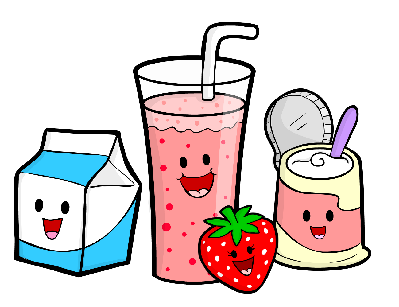 healthy food cartoon   cliparts co