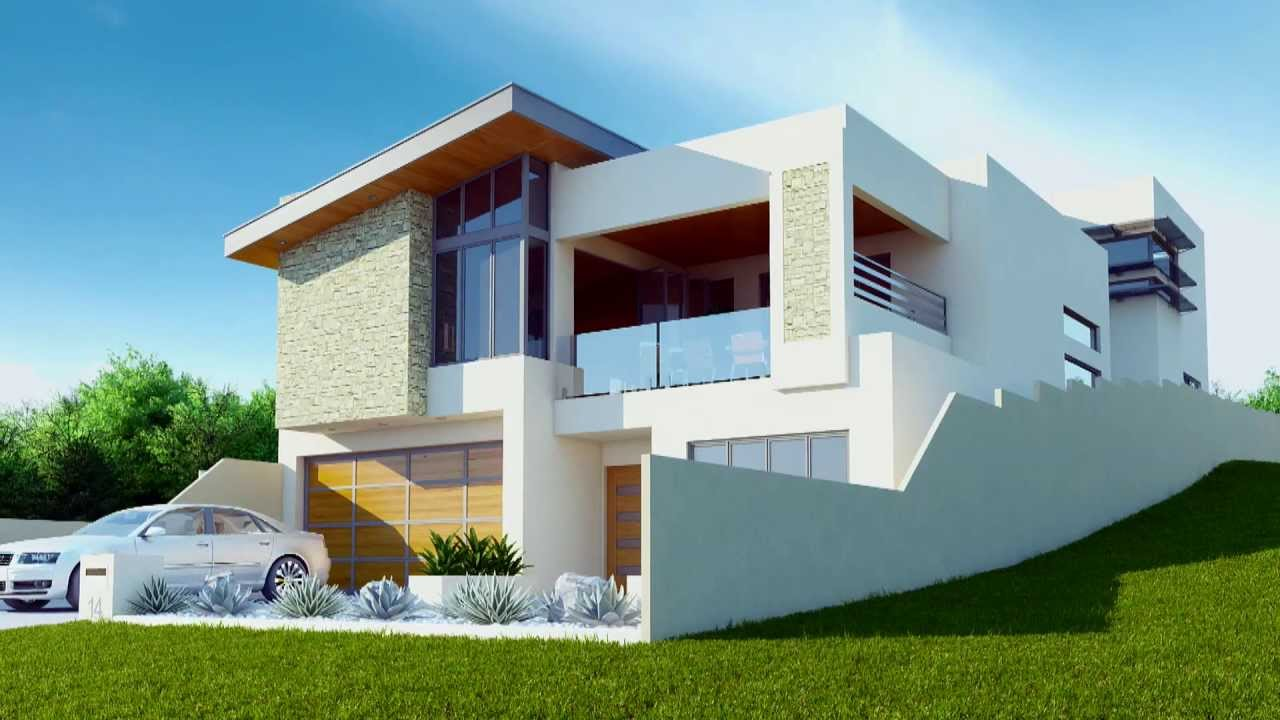 Animated house for 3d wallpaper for dream home