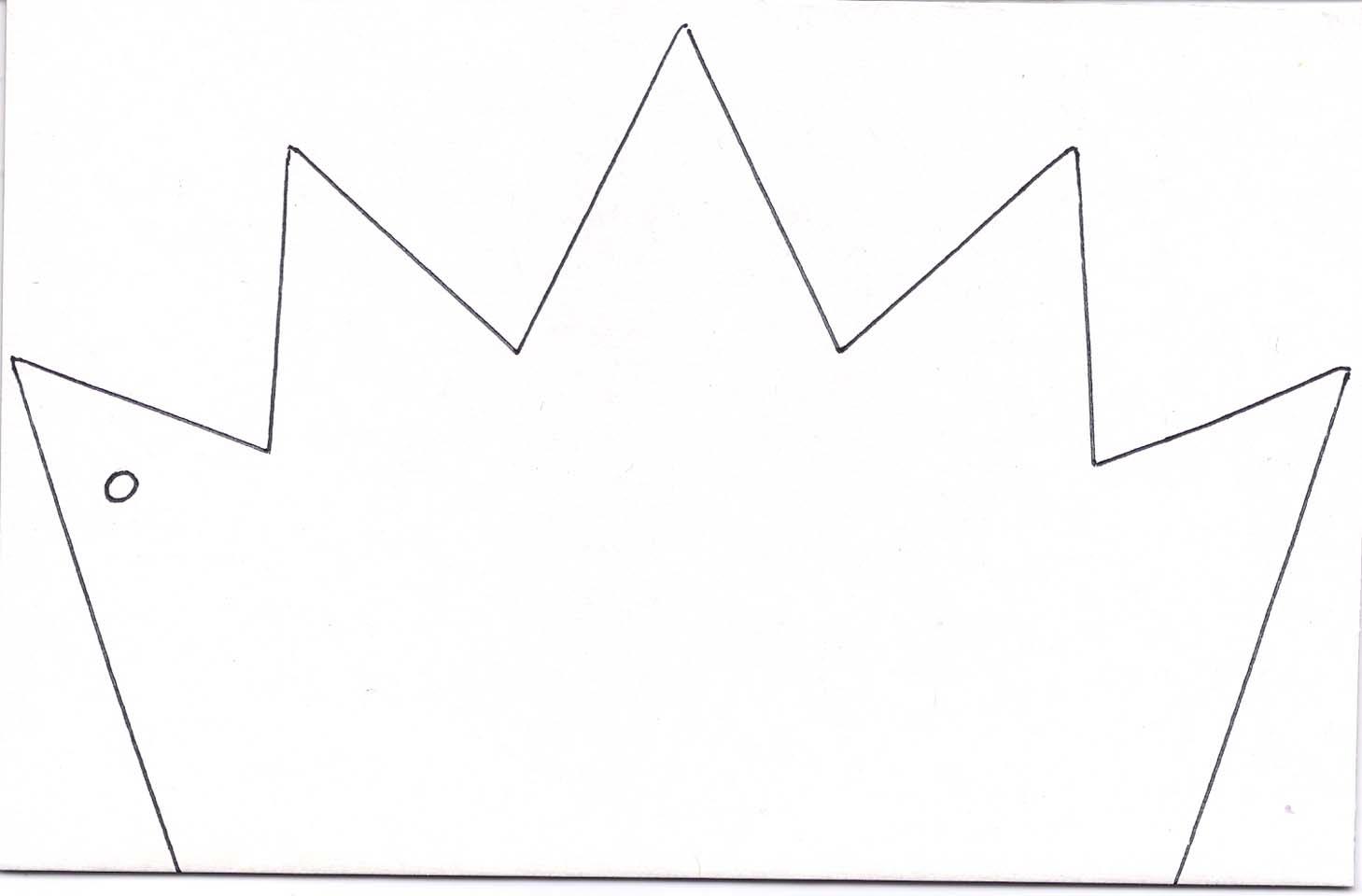 Сделать корону своими руками шаблоны 26