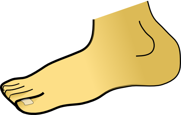 Clip Art Foot - Cliparts.co