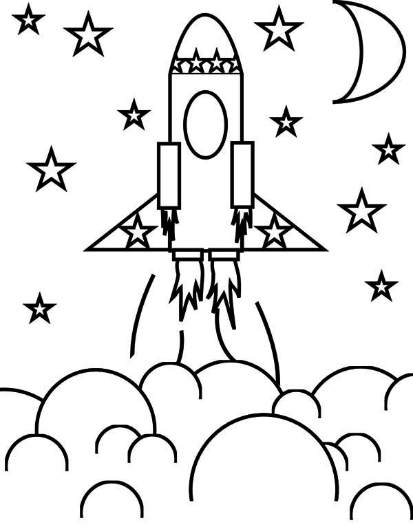 Rocket ship coloring pages 8118907 - digi-sport-live.info