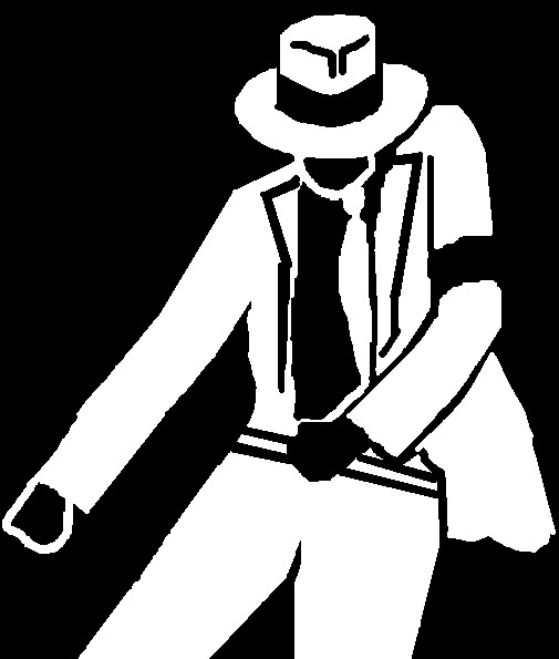 michael jackson dancing silhouette jpg tattoo clipart best