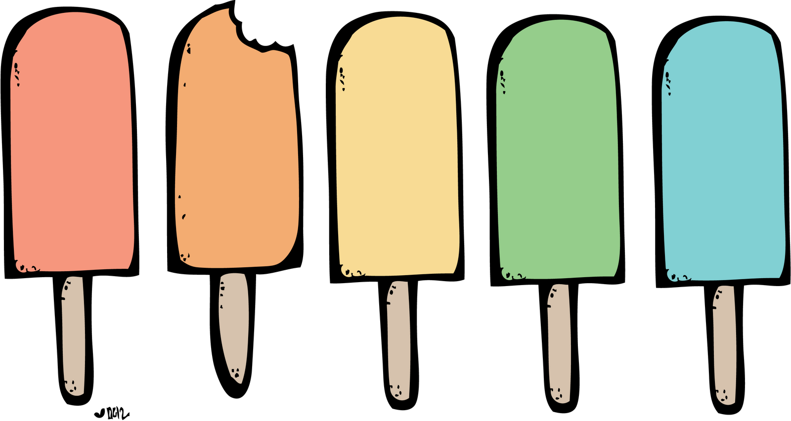 Ice Cream Truck Clip Art on cartoon ice pops