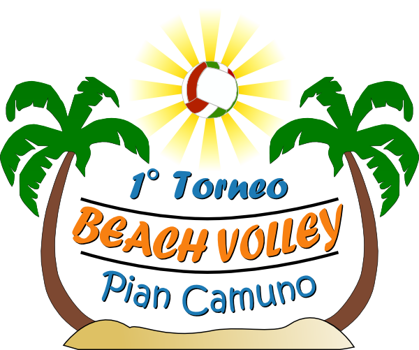 Beach Volleyball Logos - ClipArt Best