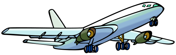 File:Airplane clipart.svg - Wikimedia Commons