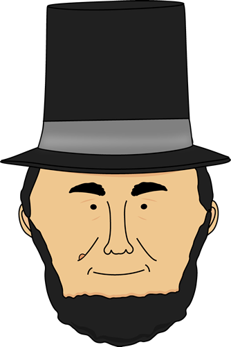 Abe Lincoln Clip Art - Cliparts.co