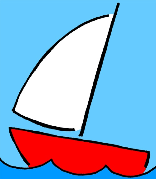 Kids Sailing Clip Art Pictures to pin on Pinterest