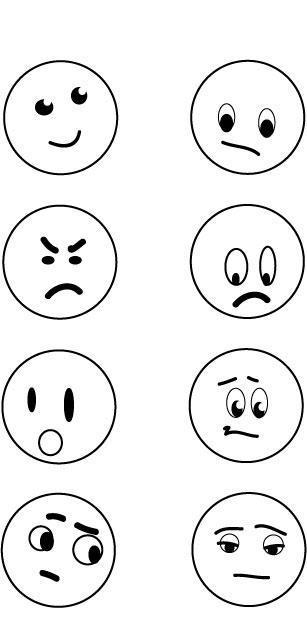 feeling faces worksheet