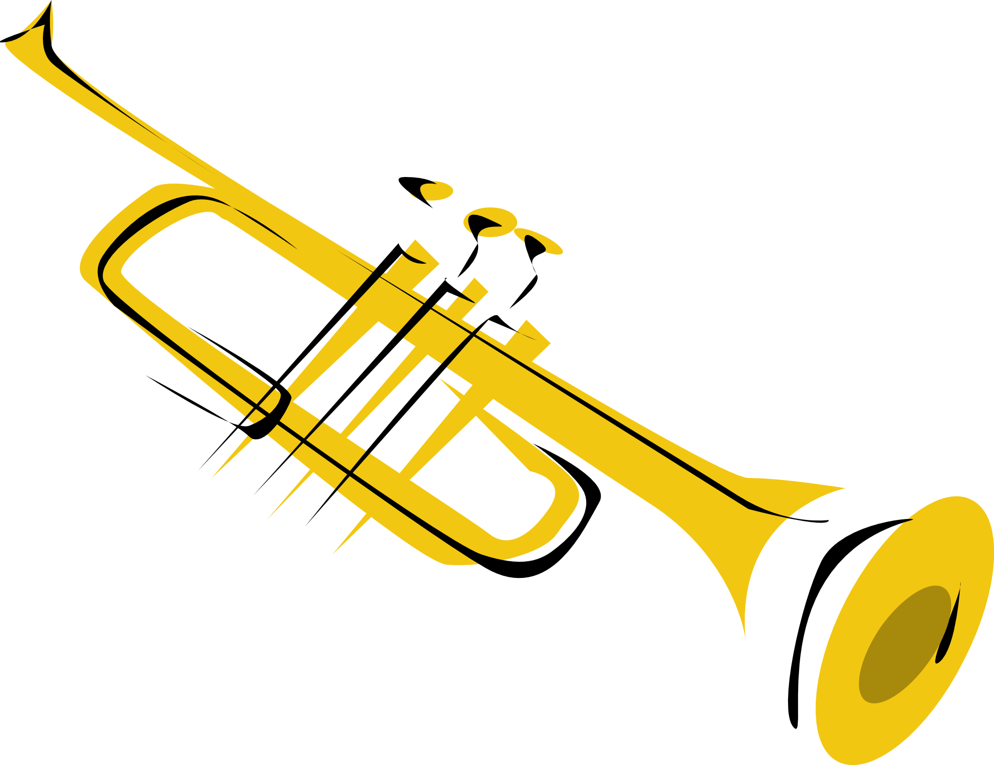 Clipart Trumpet - Cliparts.co