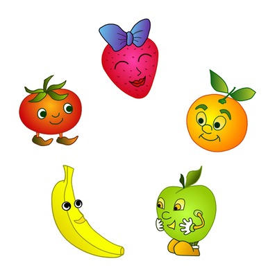 fruits and vegetables animated healthy life forever Mexico Soccer Player Clip Art Mexico Soccer Player Clip Art