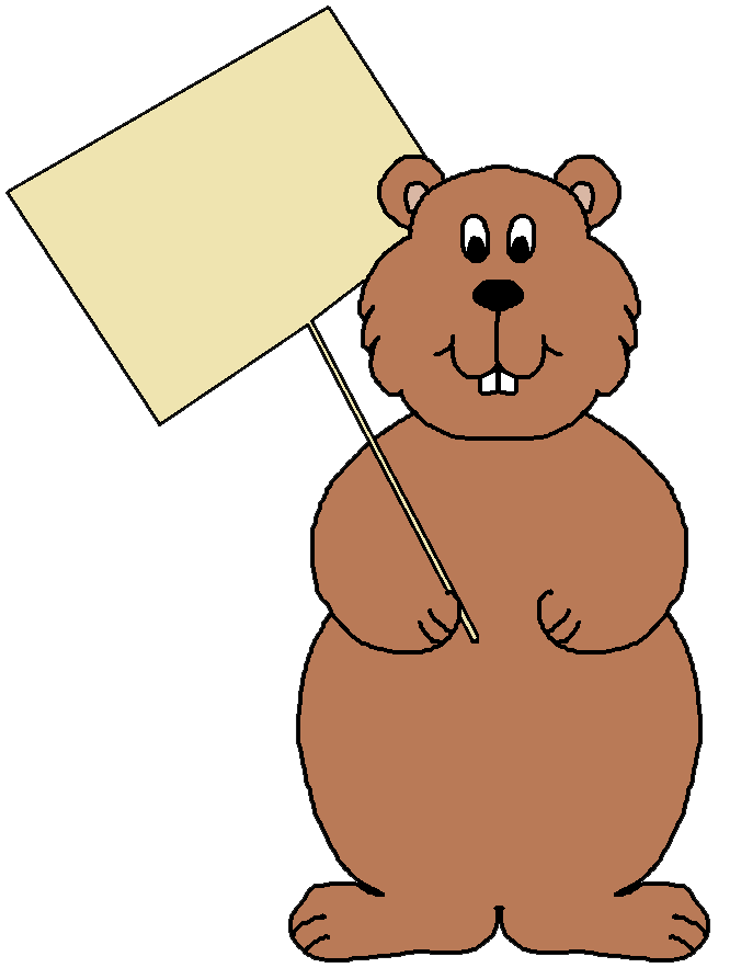 Groundhog Clip Art - Cliparts.co