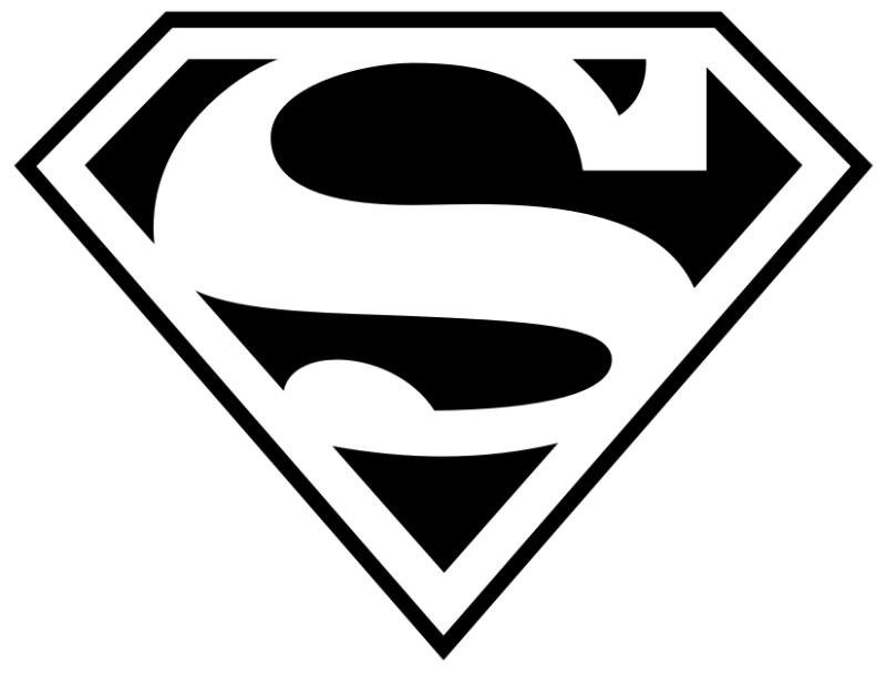 R Symbol Logo Superman S Logo Symbol Vinyl