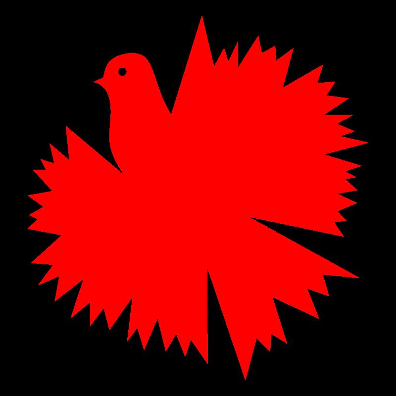 Clipart - Dove Carnation