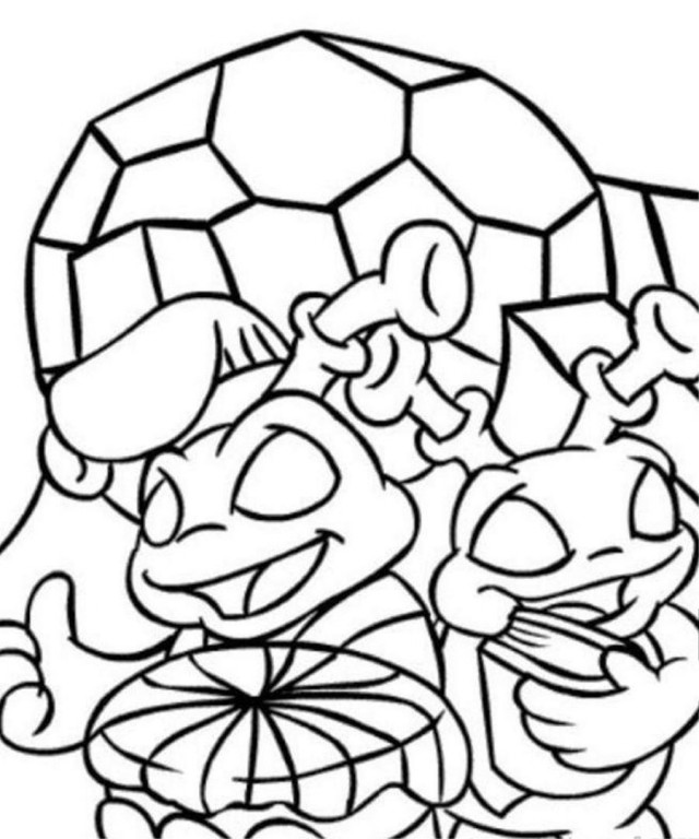 Print Or Download Neopets Kreludor Free Printable Coloring Pages ...