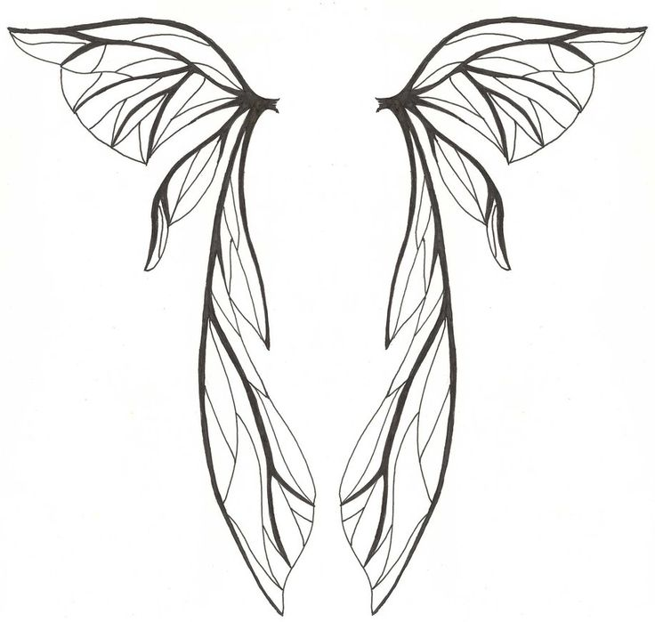 Heart With Angel Wings Drawings