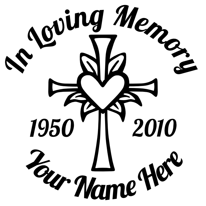 Girly borders for Memory cross template