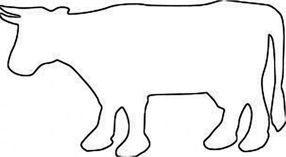Cow Outline - Cliparts...