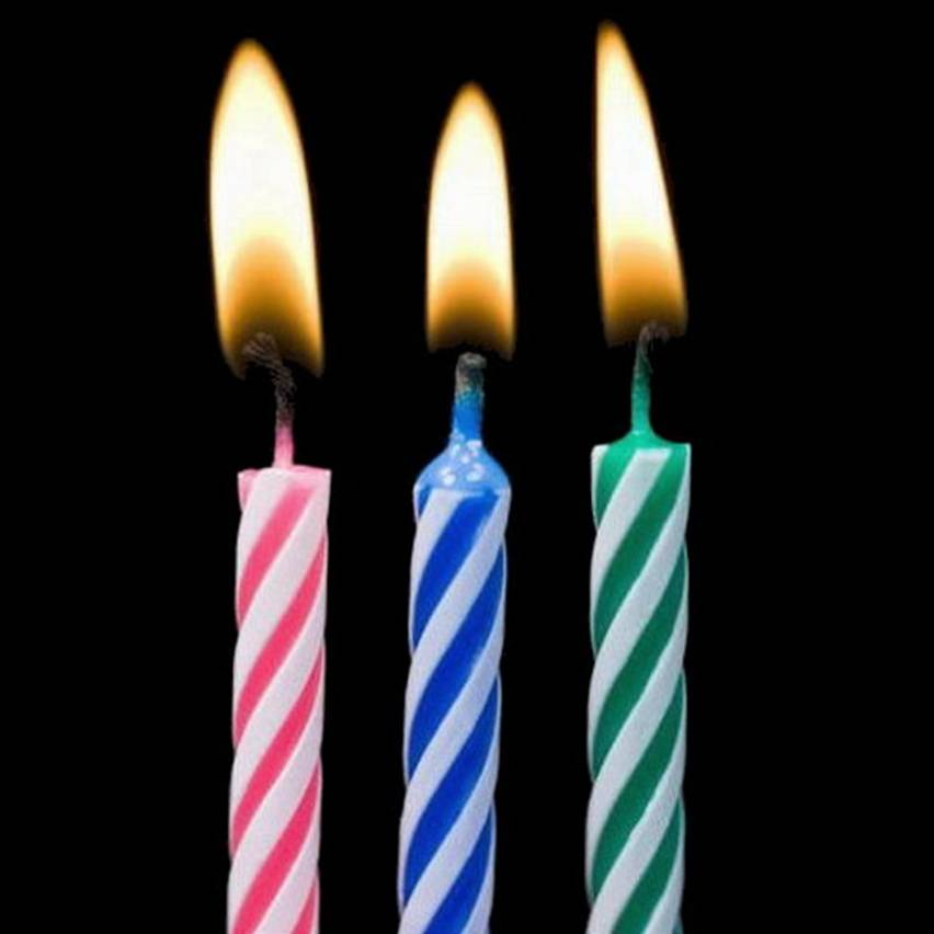 Picture Of Birthday Candles - Cliparts.co