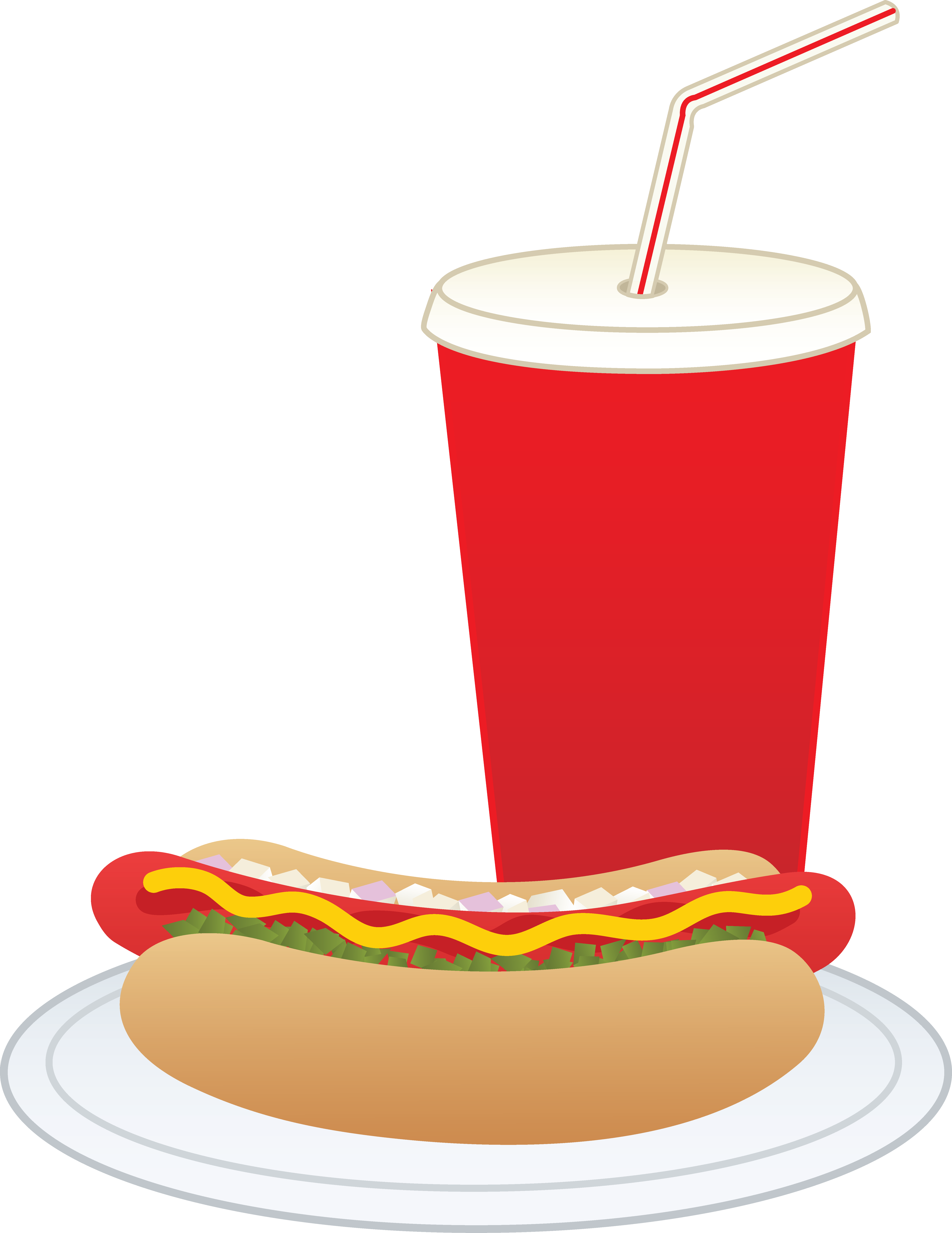 drink clipart dog soda drinks clip hotdog dogs food soft coke chips cliparts softdrink transparent library barque cream vippng pop